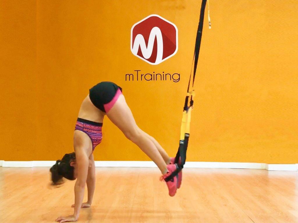 TRX mtraining suspension training