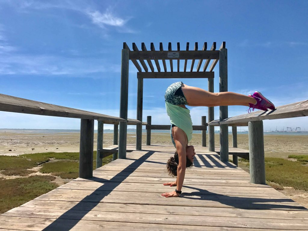 L pino handstand mtraining