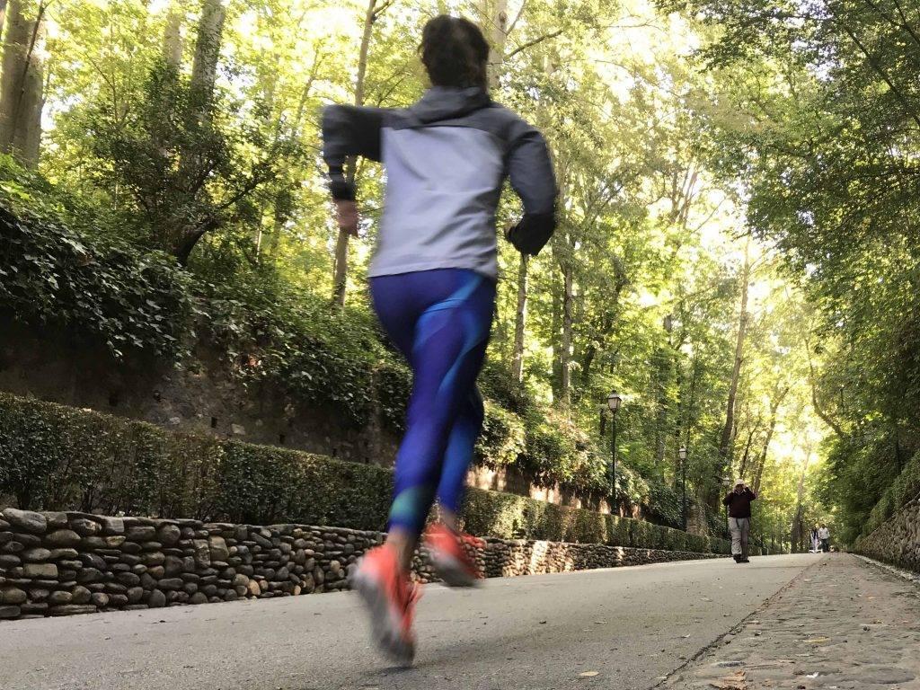 Running alhambra mtraining