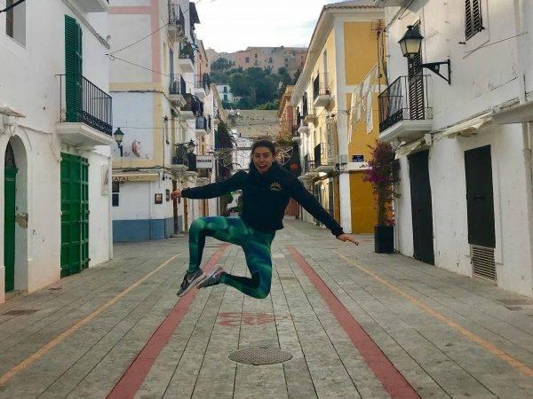salto mtraining minerva tacones y bailarinas apoyo