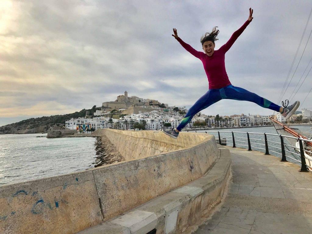 Ibiza Dalt Vila mTraining Minerva