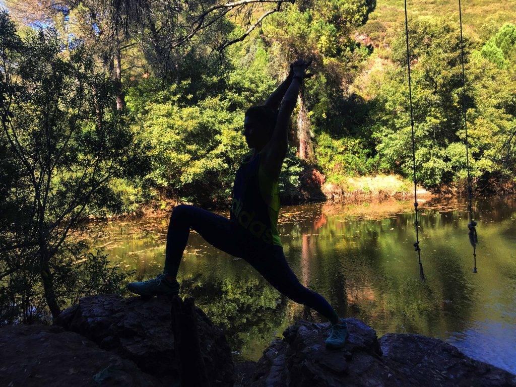 the warrior mtraining yoga