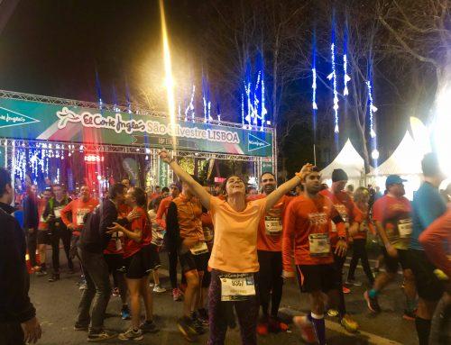 Corriendo en la última cita del año: San Silvestre de Lisboa
