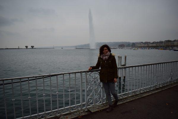 Jet d'eaux Geneva Ginebra Lago Lemán