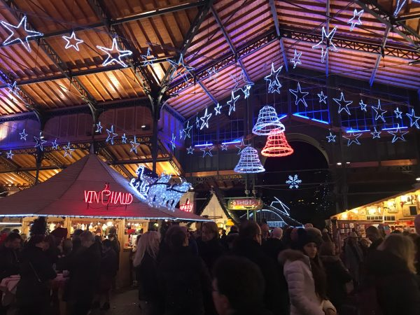 montreaux mercado navideño lago Lemán Suiza