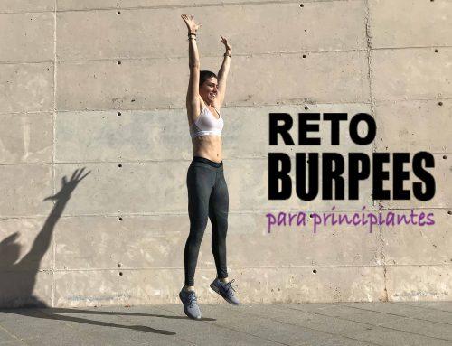 Reto mTraining – 25 Burpees en 1 mes principiantes