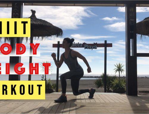 4 ejercicios para un entrenamiento body weight