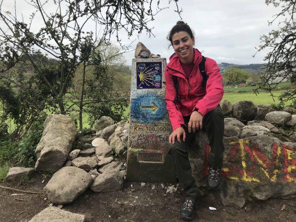 100 km camino de santiago peregrino