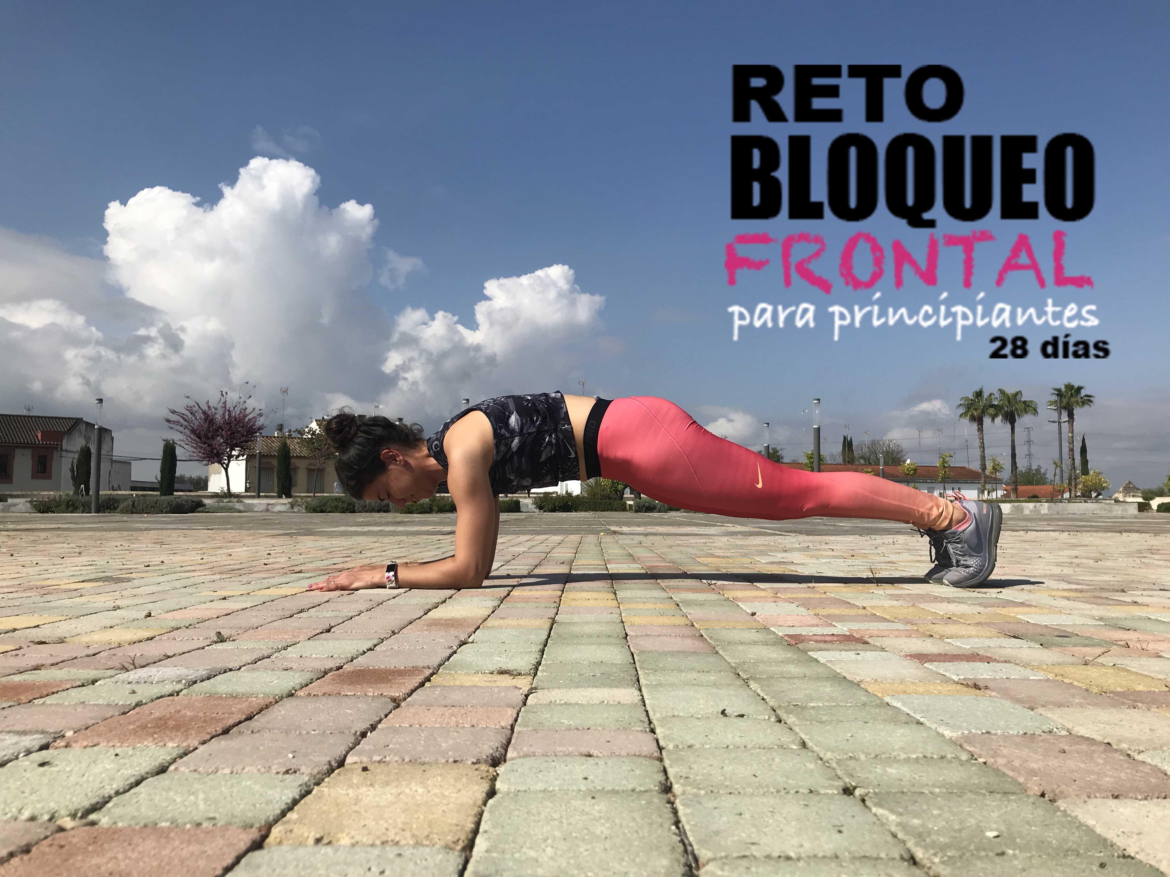 Reto mTraining – 1 minuto de bloqueo frontal en 28 días (principiantes)