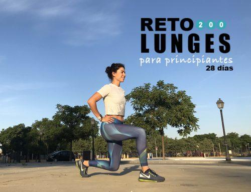 Reto mTraining – 200 lunges (principiantes)