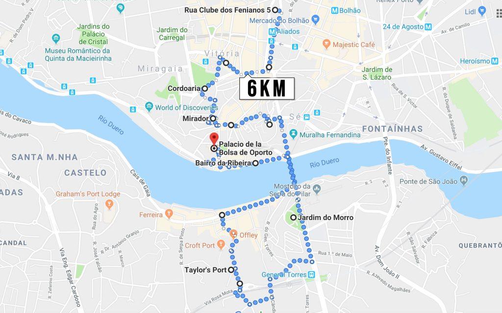 Oporto rutas de running 1 corre