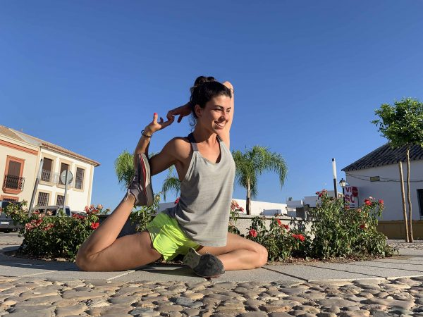Psoas ilíaco flexibilidad yoga