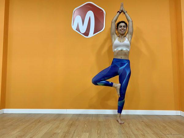 árbol yoga mtraining descanso activo