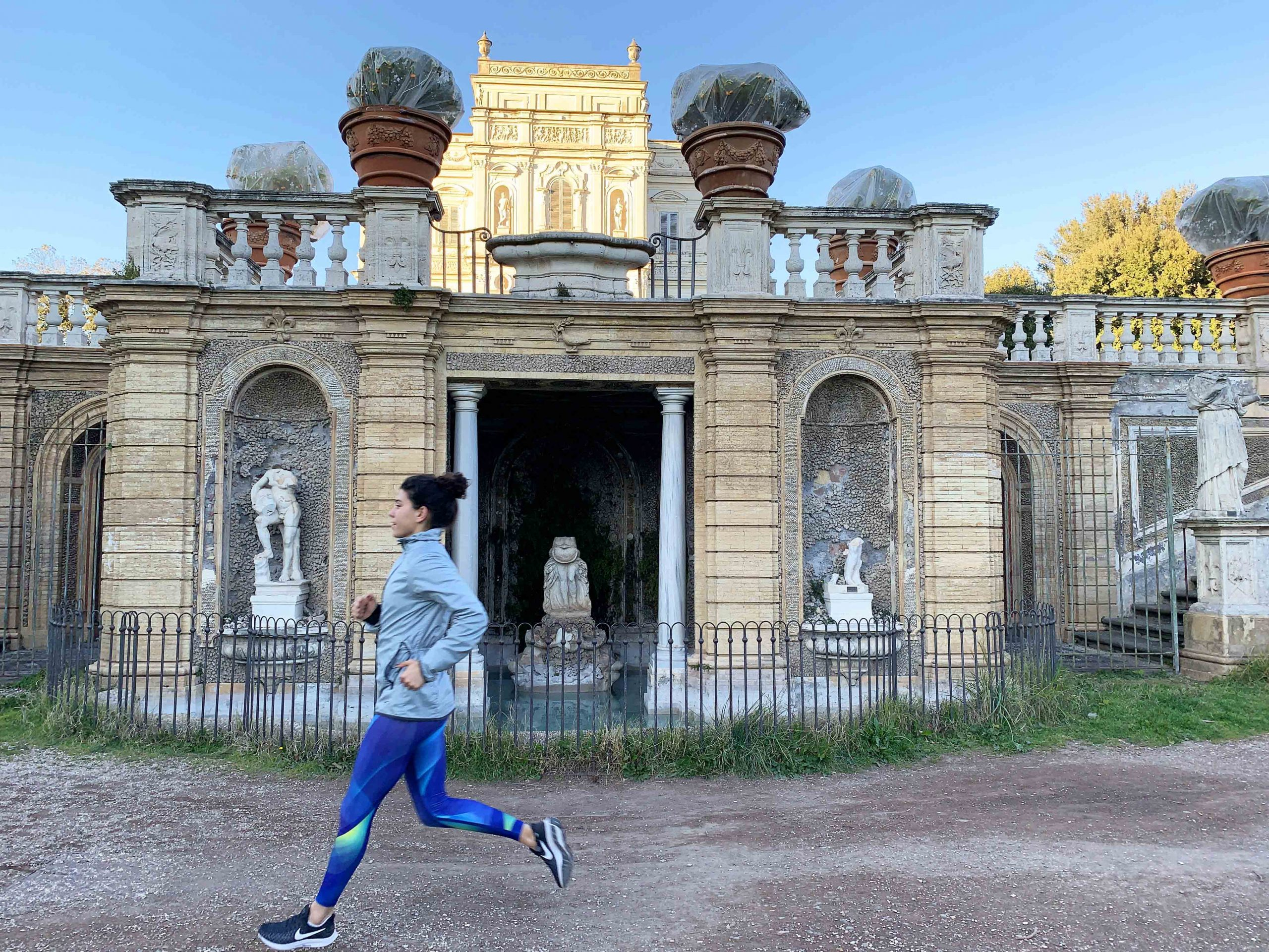 Villa panphilli running roma